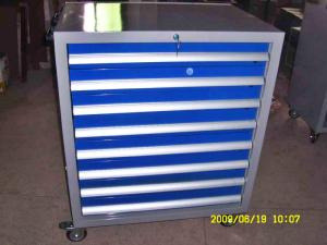 China Large Heavy Duty Metal Roller Mechanics Tool Chest Cabinet With Drawer on sale