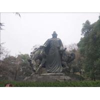 Artificial Style Outdoor Bronze Sculpture , Classical Casting Antique Bronze Statues
