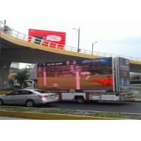 China Low Price Mobile Electronic Billboards , Full Color Trailer Mounted LED Screen on sale