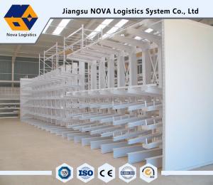 China Long Shaped Loads Storage Cantilever Storage Racks Warehouse cantilever racks for steel on sale