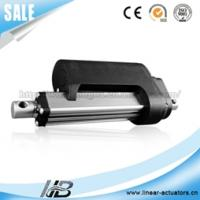24v dc 500mm stroke powerful linear actuator with hall sensor for single axis solar tracker