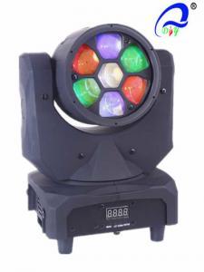China CREE Moving Head LED Stage Light 90W High Brightness Mini Bee Eye Shape on sale