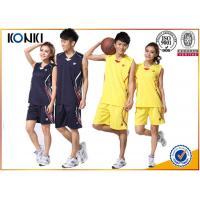 China Custom Youth Basketball Uniforms 100% Polyester Dry Fit Basketball Sportswear Jersey on sale