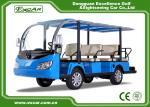 7.5KW 72V Motor Electric Passenger Bus Battery Operated Disc Brake Technology