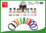 Puppy Id Collars Thin Hook And Loop hook and loop Straps For Dog Pet , Color Distinguish