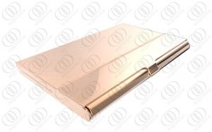 Rose gold business card case holder stainless steel pretty quality rose gold business card case holder stainless steel pretty business card holders for sale colourmoves