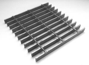 China Ditch Cover Stainless Steel Grating 304 Plain Bar Custom Cross Bar Spacing on sale