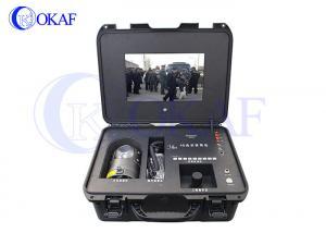 China Portable 4G PTZ Camera , Remote Wireless Surveillance CameraSuitcase Emergency Command System Terminal on sale