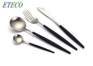 China 4 Pcs Stainless Steel Dinnerware Spoons Forks Contained Tableware Kits on sale