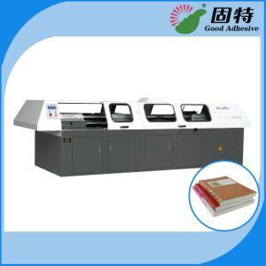China Hot Melt Automatic Bookbinding Machine , Perfect Binder Bookbinding Machine on sale