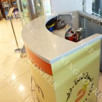 China Shoping market checkout counter Bank Counter on sale