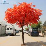 Eco - Friendly Japan Artificial Maple Tree For Garden / Home Decoration