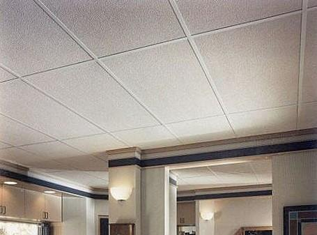 Acoustic Absorption High Density Fiberglass Soundproof Ceiling Tiles Panels Images