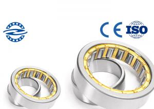 China Single Row Cylindrical Roller Bearings N214 Chrome Steel GCR15 Material For Machinery on sale