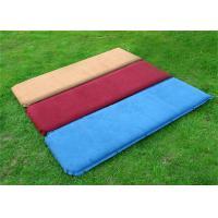 Nylon Camping Inflatable Sofa Bed Self-inflating Mattress 192*132cm