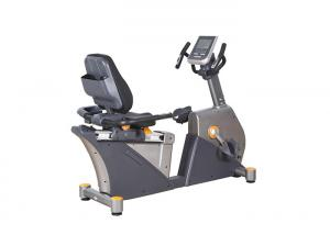 China Adjustable Seated Stationary Recumbent Exercise Bike , Magnetic Indoor Cycling Bike on sale