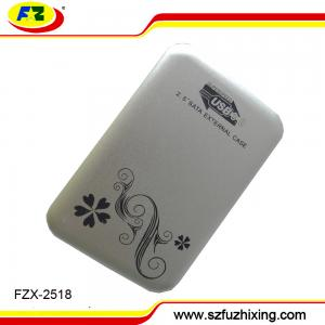 China Custom aluminum usb3.0 sata hdd enclosure  hard disk case on sale
