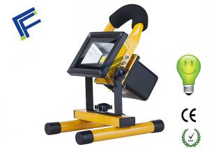 China Camping Outdoor LED Flood Lights 10W / Portable Rechargeable Floodlights on sale