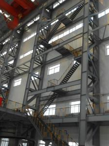 China prefab steel fabrication workshop layout on sale