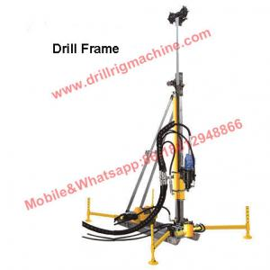China 200m Lightweight Portable Drilling Rig Equipment With Kubota 23.5kw Engine on sale