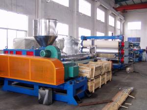 Quality Easy Installation Board Extrusion Line Single Layer 0.2 - 0.8 Mm Thickness for sale