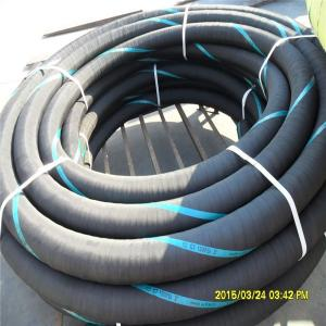 China 3 Inch High Pressure Rubber Industrial Water Suction & Discharge Hose 10bar on sale