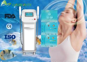 China E-Light IPL SHR Hair Removal Machine With 2 Handle , Permanent Hair Removal Machine on sale