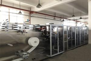 China High speed Facial Mask Making Machine Production Efficiency ≥95% on sale