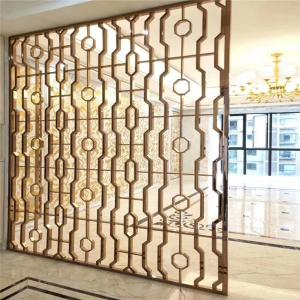 China China OEM stainless steel projects manufacturing metal panels for decoration on sale
