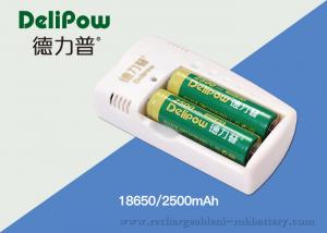 China 2500mAh 18650 Rechargeable Lithium Battery For Electronic Cigarette on sale