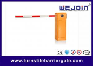 China Automated electronic Barrier Gate Arm With Die casting Aluminum Alloy Motor on sale