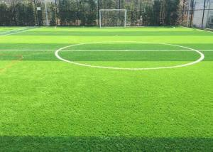 China Football / Futsal Court Flooring / Natural Artificial Grass Better to Protect Athlete on sale