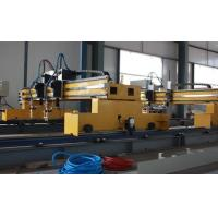 Double gantries CNC flame and plasma cutting machine with HYPERTHEM Power source