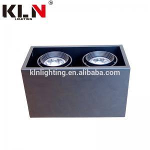 China Warm White LED Grille Downlight , LED Surface Ceiling Lights For Shopping Center on sale