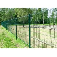 China 8 Feet Height Welded Wire Mesh Garden Fencing Wide View For Airport / Highway / Stadium on sale