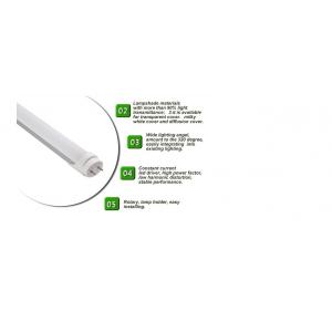 China Aluminum 24w T8 LED Light Tubes 1500mm 50 / 60 HZ With 5 Year Warranty on sale