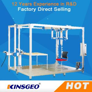 China 500KG Sliding Resistant Furniture Testing Machine With Steel Plate For Rolling Office Chair on sale