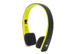China Yellow Waterproof Bluetooth Stereo Headset for iPhone / ipods / Tablet PC on sale
