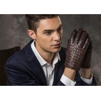 Brown Sheep Leather Silk Men