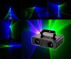 China Red and Green mixed Yellow 4 Gobo Strobe Mini dj disco laser lighting / lights on sale
