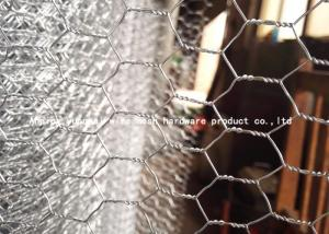 China Pvc Coated Chicken Wire Mesh Hexagonal Wire Netting 2-3.5mm Wire Gauge on sale