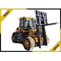 4 Tons All Terrain Fork Lift Trucks Strong Power Wide - View Unique Overhead Guard Design