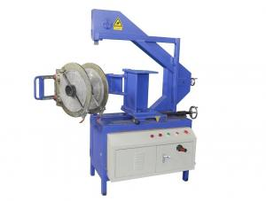 China 315mm Portable Plastic Pipe Band Saw Bandsaw Linear Velocity 250mm / Min on sale