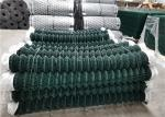 50x50mm Pvc Coated Chain Link Cyclone Mesh Fence