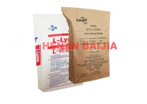 China Industrial Pinch Bottom Paper Bags  Heat Sealed Portable Building Construction Use on sale