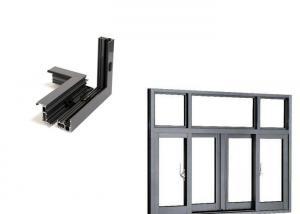 China 6063 T5aluminumextrusion Profiles Extruded Aluminum Window Door Frame on sale