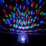 Iluminación de Digitaces LED de la luz de la etapa de la bola de DJ del disco del partido DMX512