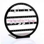 POP acrylic jewelry display stand plexiglass earring display rack