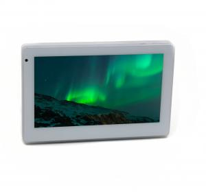 China Wall Mount Touch Screen all-in-one Android tablet PC with LED light bar, GPIO, RS485, Wifi on sale