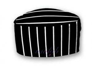 China Durable Restaurant Work Wear / Anti Rubbing Kitchen Skull Cap Chef Hat on sale